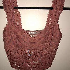 NEW Free People Dream Away Cooper Lace Brami Sz S